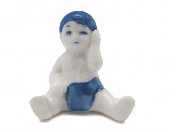 Color Porcelain Miniature Baby