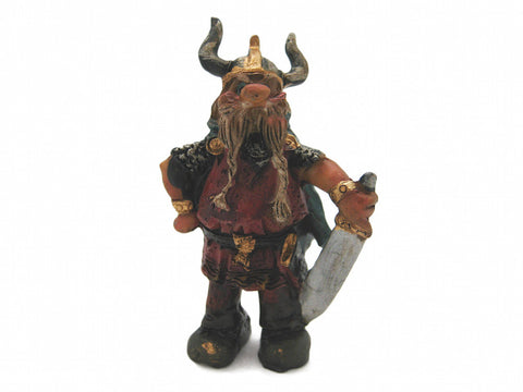 Miniature Viking With Sword