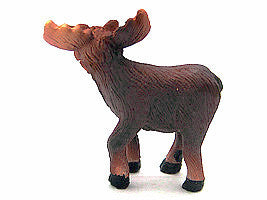 Miniatures Moose Poly Resin - Animal, Collectibles, Figurines, General Gift, Home & Garden, Miniatures, PS-Party Favors - 2