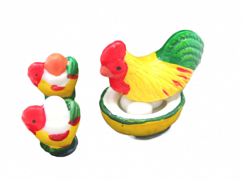 Miniature Chickens In Mini Gift Box - Animal, Collectibles, Figurines, General Gift, Home & Garden, Miniatures, PS-Party Favors - 2