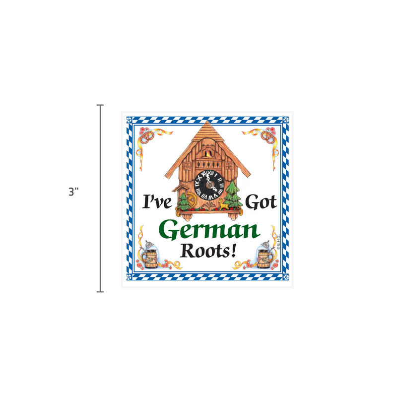 German Gift Idea Magnet German Roots