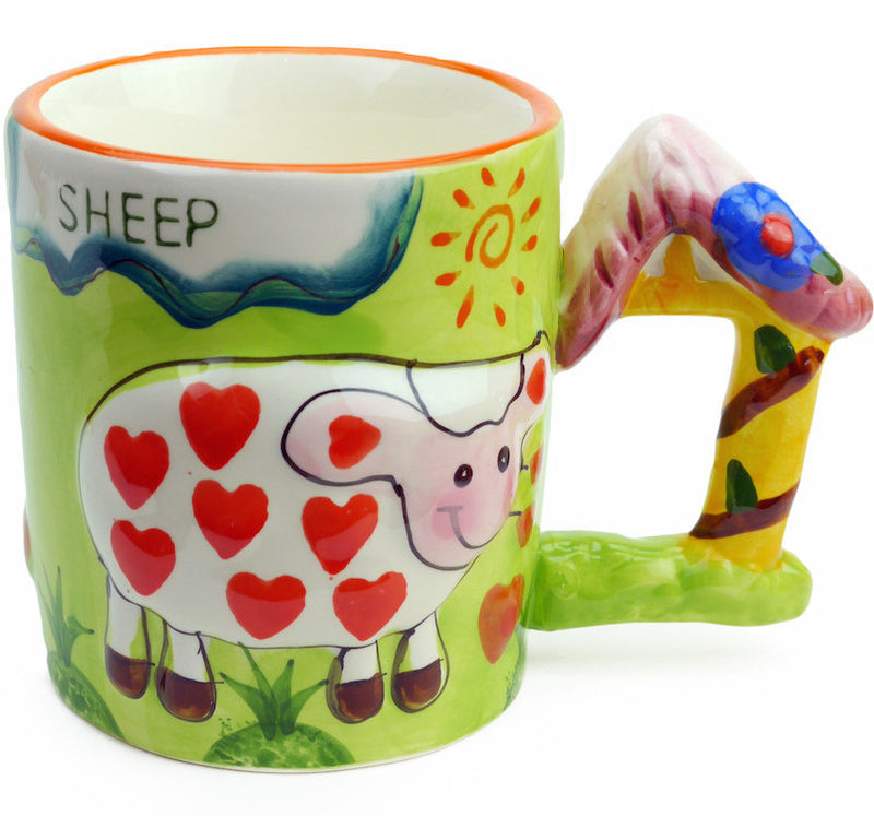 Mug w/ Sound of Animal: Sheep - Animal, Coffee Mugs, Coffee Mugs-Musical, Collectibles, Decorations, Drinkware, General Gift, Home & Garden, PS-Party Favors, Tableware