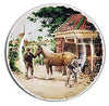 Collectible Color Plate Blacksmith