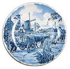 Collectible Plate Dutch Milkman Blue