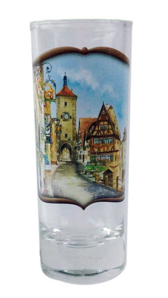 Oktoberfest Souvenir Shooter Village Dancers Clear