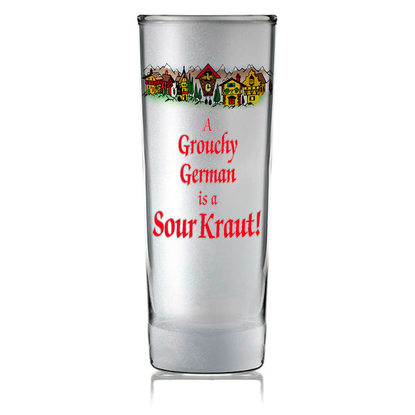 Oktoberfest Party Favor Shooter Grouchy German Frosted