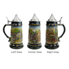 Legends of Germany Collectible Beer Stein with Metal Lid