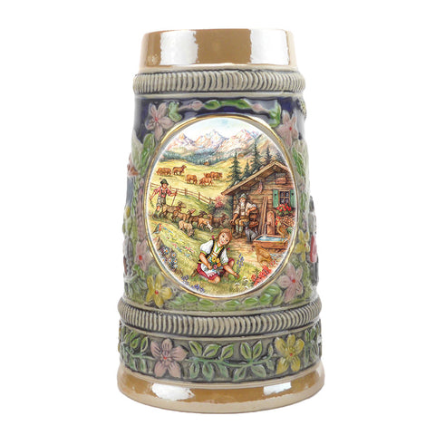 Spring in Germany Ceramic Shot Glass Stein Collection