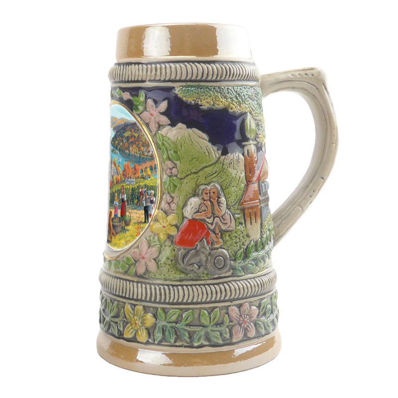 Fall in Germany Ceramic Shot Glass Stein Collection -2