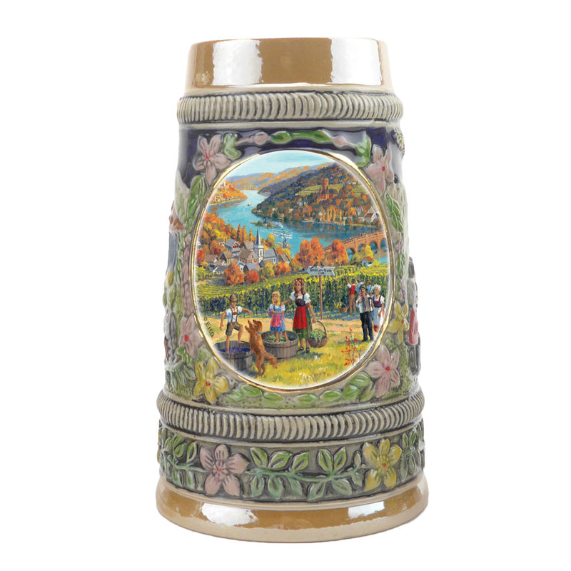 Fall in Germany Ceramic Shot Glass Stein Collection -1