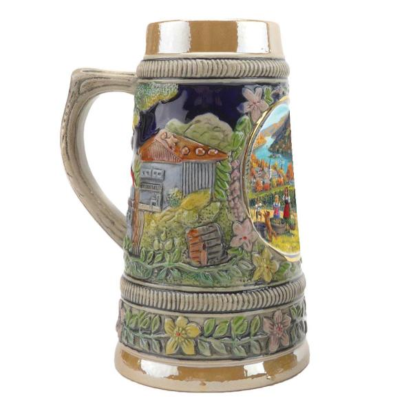 Fall in Germany Ceramic Shot Glass Stein Collection -3