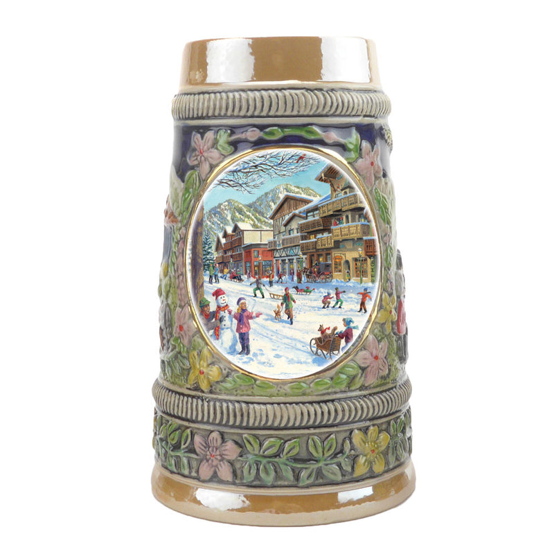 Winter in Germany Ceramic Shot Glass Stein Collection -1