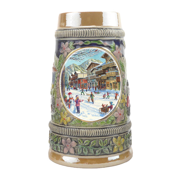 Winter in Germany Ceramic Shot Glass Stein Collection