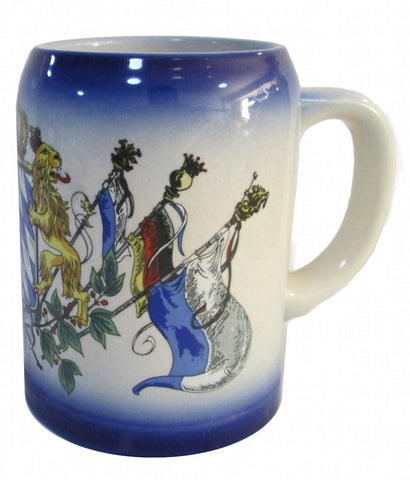 Bayern Coat of Arms Stoneware Beer Stein