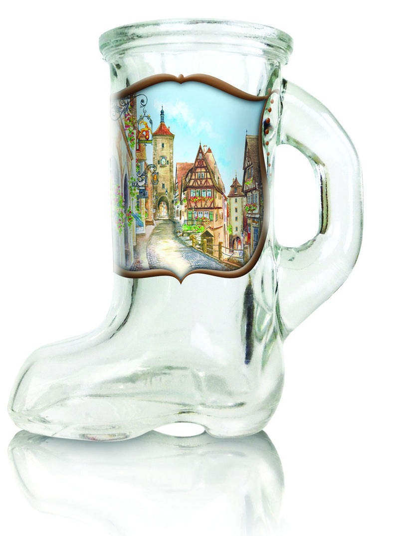 Boot Glass Germany Shot Glass - Alcohol, Barware, Clear, Collectibles, Drinkware, German, Germany, Glass, Home & Garden, PS- Oktoberfest Party Favors, PS-Party Favors, PS-Party Favors German, Shot Glasses, Shots-Glass, Tableware, Top-GRMN-B