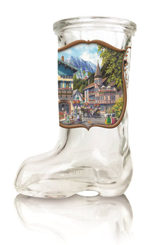 German Summer Oktoberfest Beer Boot Shot Glass