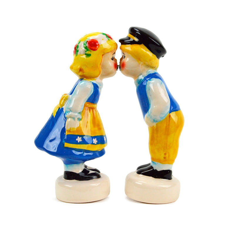 Novelty Salt & Pepper Shaker Swedish Couple