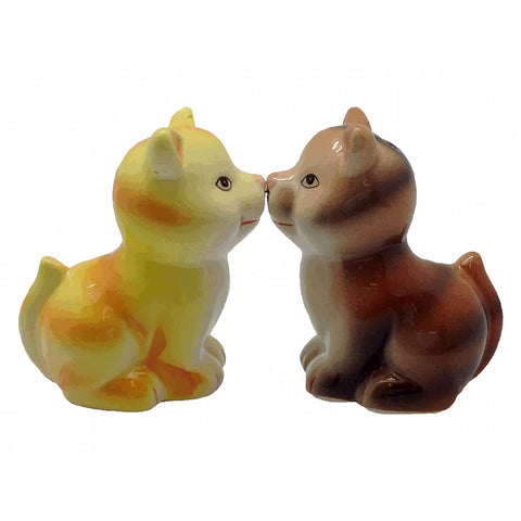 Ceramic Salt & Pepper sets Magnetic Cats