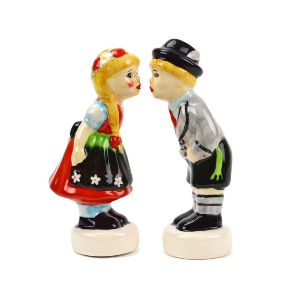 Ceramic Salt & Pepper Shakers German Couple