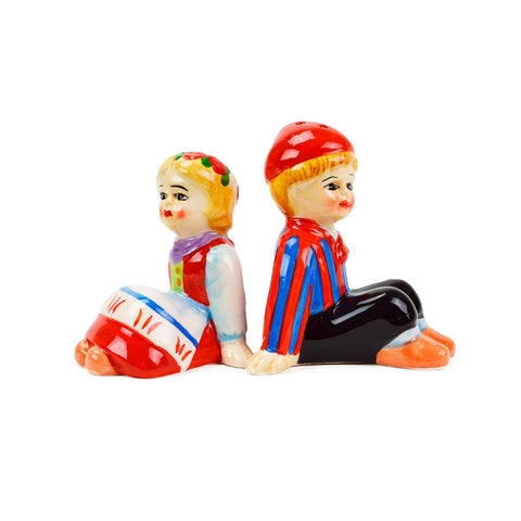 Cute Salt and Pepper Shakers Scandinavian Sitting Couple