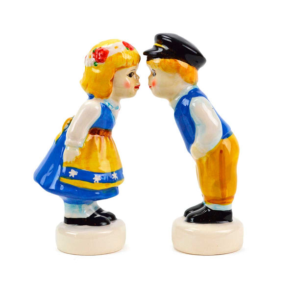 Vintage Salt & Pepper Shakers Swedish Standing Couple