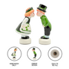 Irish Gift Idea with Ireland Kissing Couple S&P Set