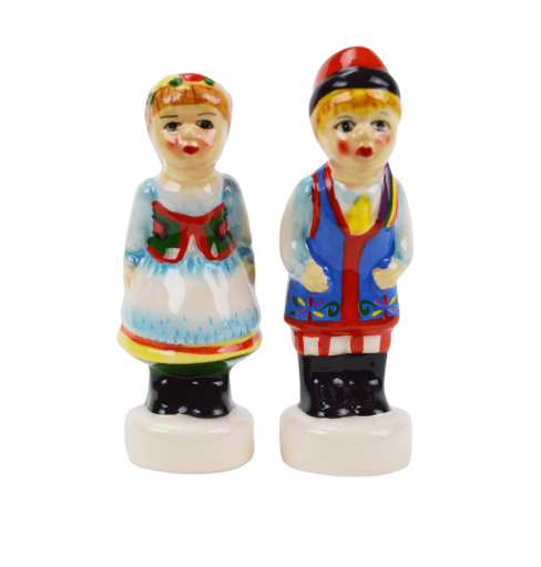 Polish Gift Idea Ceramic Pepper & Salt Set