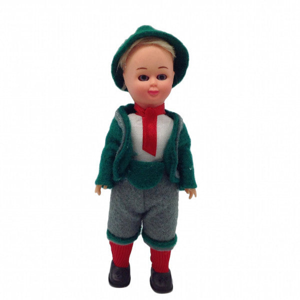 German Costume Boy Doll 6 inches