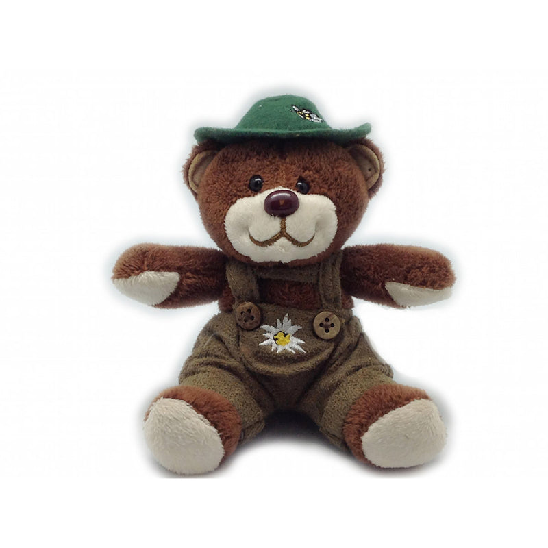 German Teddy Bear Boy with Hat -2