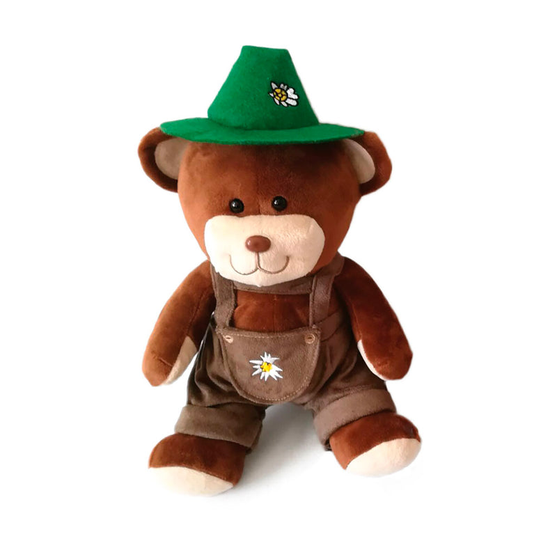 German Teddy Bear Boy with Hat -1