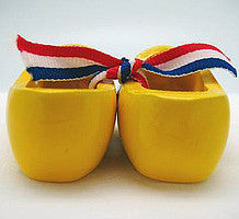 Dutch Wooden Shoes Deluxe Yellow - 1.5 inches, 2.5 inches, Apparel-Costume Shoes, Apparel-Costumes, CT-600, Dutch, Ethnic Dolls, Netherlands, PS-Party Favors, PS-Party Favors Dutch, Shoes, Size, Top-DTCH-B, Tulips, Windmills, wood, Wooden Shoes, Wooden Shoes-Souvenir, Yellow - 2 - 3 - 4