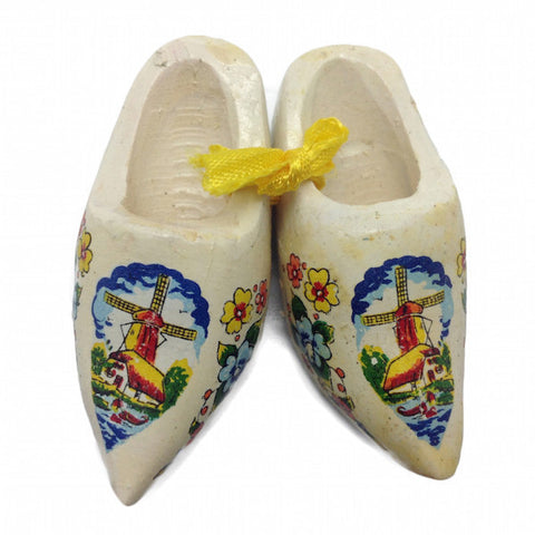 Dutch Wooden Shoes Clogs Multi-Color