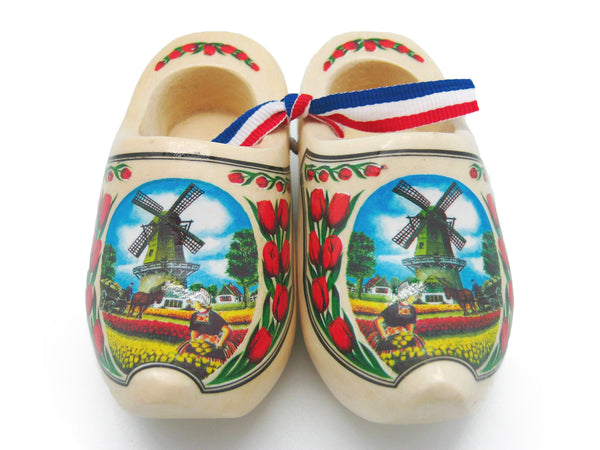 Decorative Dutch Shoe Landscape Design Natural 4