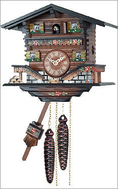 Engstler Black Forest Quartz Cuckoo Clock with Music
