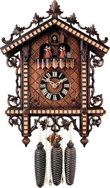 River City Clocks Eight Day Musical Cuckoo Clock with 1880's Reproduction
