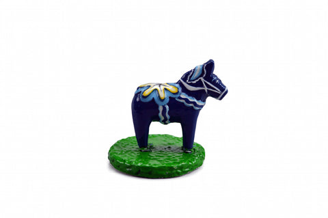 Miniature Blue Dala Horse