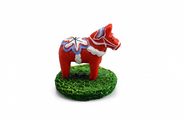 Miniature Red Dala Horse