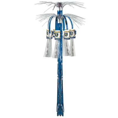 Cascade Hanging Oktoberfest Column Party Decorations - Below $10, Foil, Hanging Decorations, Multi-Color, Oktoberfest, PS- Oktoberfest Decorations, PS- Oktoberfest Essentials-All OKT Items, PS- Oktoberfest Hanging Decor, PS-Party Supplies