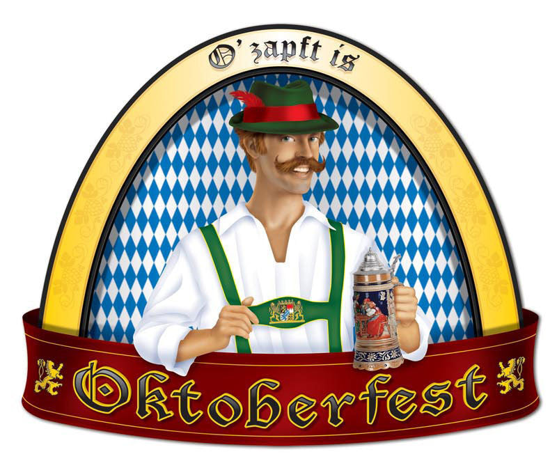 Oktoberfest People Cutout Wall Decorations - Below $10, Hanging Decorations, Multi-Color, Oktoberfest, PS- Oktoberfest Decorations, PS- Oktoberfest Essentials-All OKT Items, PS- Oktoberfest Hanging Decor, PS- Oktoberfest Table Decor, Tableware, Top-OFST-B - 2 - 3 - 4