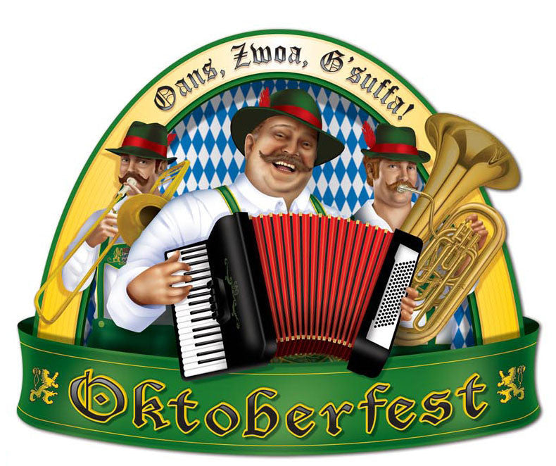Oktoberfest People Cutout Wall Decorations - Below $10, Hanging Decorations, Multi-Color, Oktoberfest, PS- Oktoberfest Decorations, PS- Oktoberfest Essentials-All OKT Items, PS- Oktoberfest Hanging Decor, PS- Oktoberfest Table Decor, Tableware, Top-OFST-B - 2