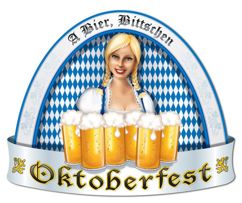 Oktoberfest People Cutout Wall Decorations - Below $10, Hanging Decorations, Multi-Color, Oktoberfest, PS- Oktoberfest Decorations, PS- Oktoberfest Essentials-All OKT Items, PS- Oktoberfest Hanging Decor, PS- Oktoberfest Table Decor, Tableware, Top-OFST-B - 2 - 3