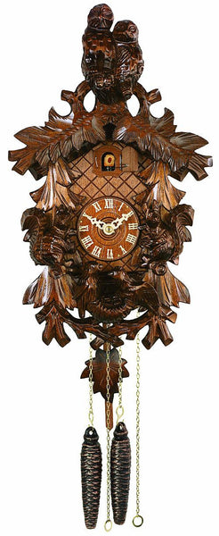 River City Clocks One Day Owls Squirrels and Nest Cuckoo Clock