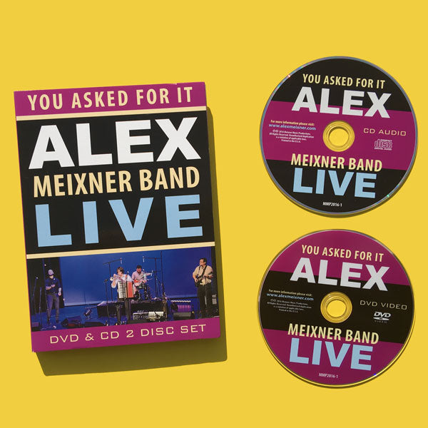 You Asked For It! LIVE – Alex Meixner Band German Music