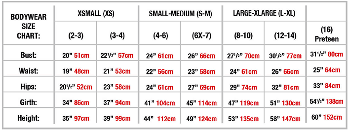 Girl Sizing