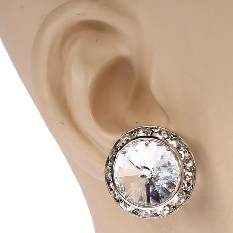 15mm Rondell Crystal Performance Earrings