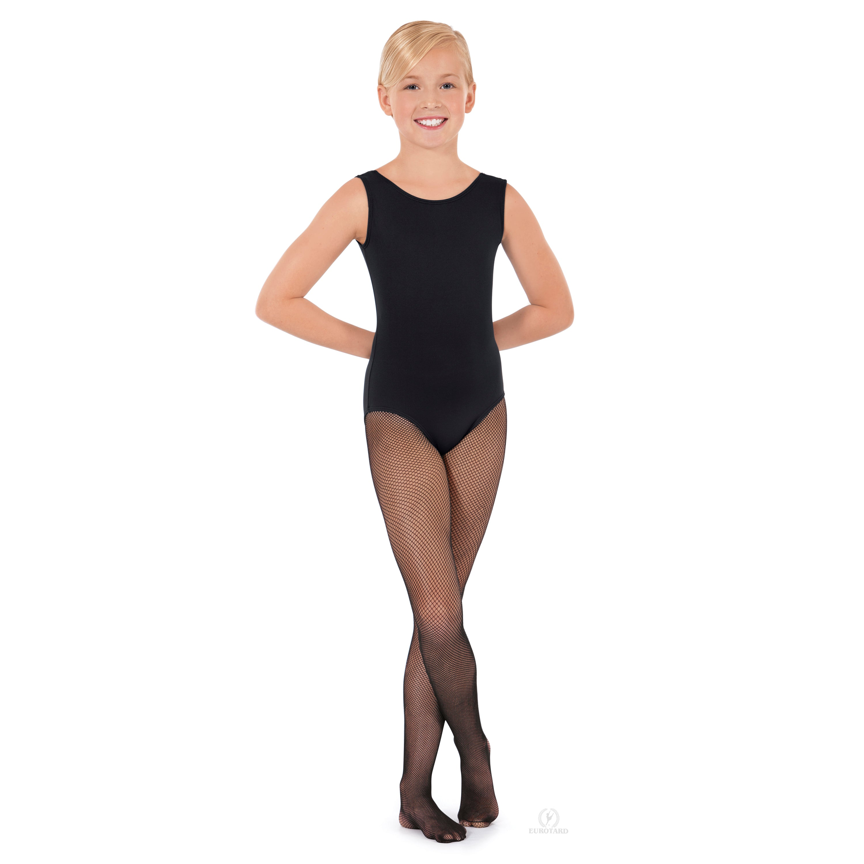 216C Eurotard Child Lightweight Fishnet Tights