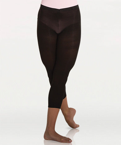 A35 Supplex Lycra Low Rise Waist Crop Tight Adult