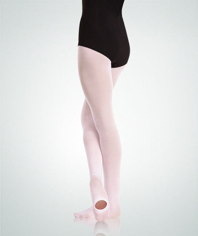 C81 Supplex Spandex Knit Waist Convertible Value Tights Child