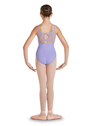 CL4837 BREA GIRLS MESH BACK CAMI LEOTARD