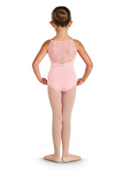 CL4847 TIA GIRLS DECO BACK CAMI LEOTARD
